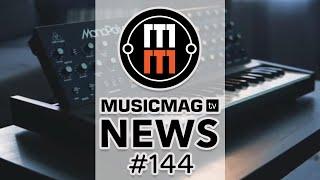 MusicMagTV News #144: AKAI MPC Live II, грувбокс от Behringer, Melodyne 5 и др.
