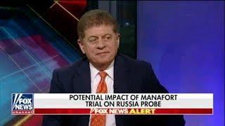 Judge Napolitano Rod Rosenstein Exonerated Manafort 8 Years Ago pt 2