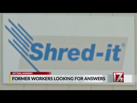Former Shred-It employees looking for answers as coronavirus outbreak puts them out of work