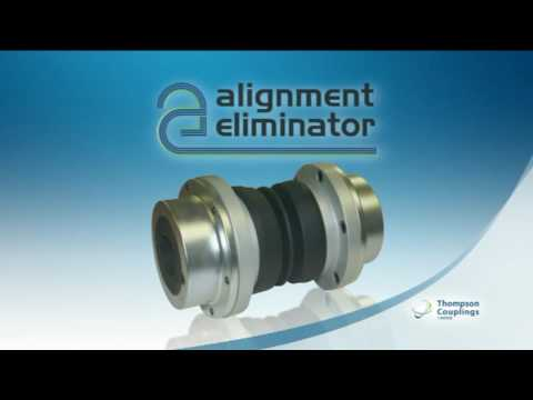 Alignment eliminator pump to motor coupling product for Motor and pump coupling