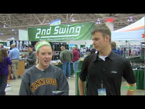 Custom Fitting at the 2013 MN Golf Show - 2nd Swing Golf