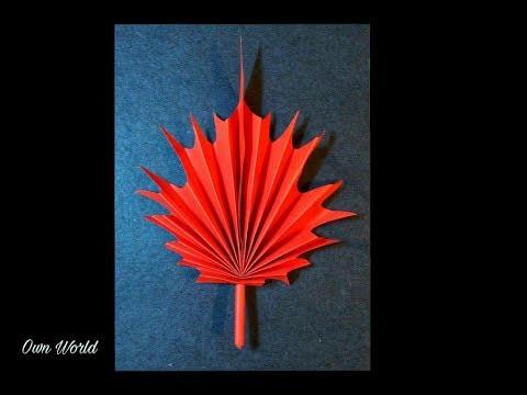 DIY Maple Leaf   Canada Day Craft Ideas /Handmade Craft