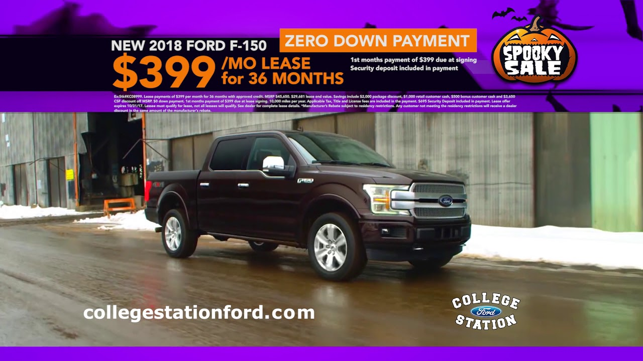 College Station Ford >> College Station Ford Spooky Sale Oct 2017