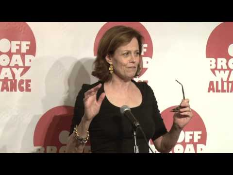 2013 OBA Awards: Legend of Off Broadway - Sigourney Weaver ...