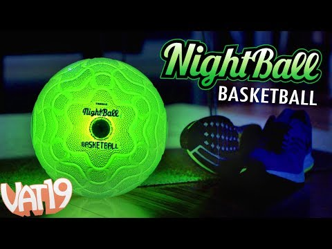 Glow in the Dark LED Basketball