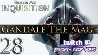 Dragon Age: Inquisition [PC] Gameplay - Gandalf The Mage #28 ~ Dragon Hunter!