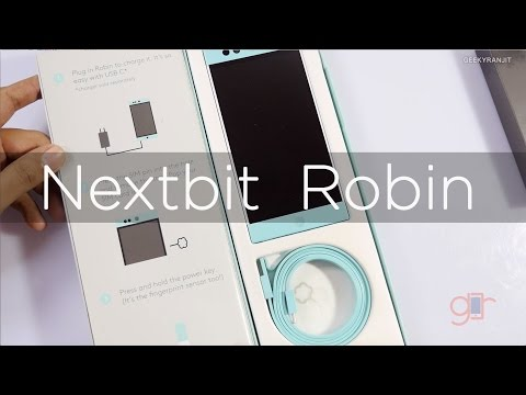 Nextbit Robin Cloud Storage Phone Unboxing & Overview