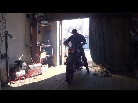 Ставлю один карбюратор на мотоцикл Урал.