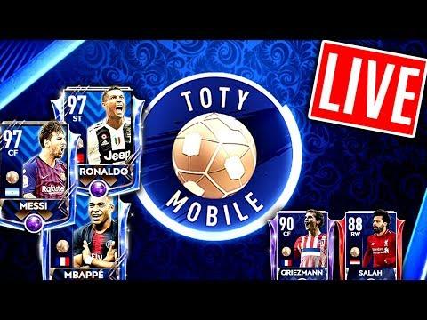 TOTY PACK OPENING ESKALATION!! 😱🔥 FIFA Mobile 19 thumbnail