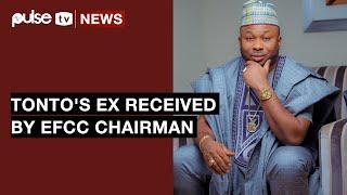 Tonto Dikeh's  Ex Husband, Oladunni Churchill Received By EFCC Chairman | Pulse TV