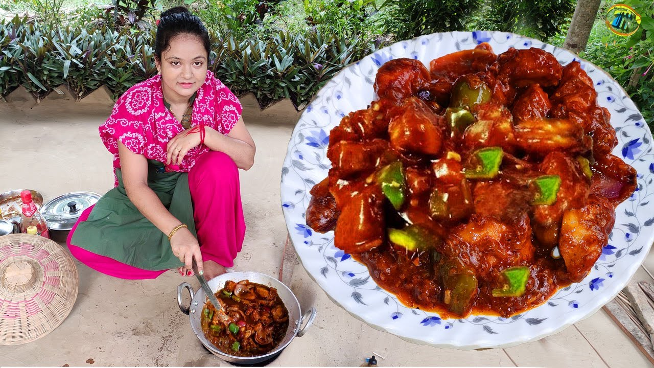 খুবই জনপ্রিয় এই রেসিপির সাথে যদি থাকে একটু ফ্রাইড রাইস তাহলে তো পুরো জমে ক্ষীর/chilli chicken recipe