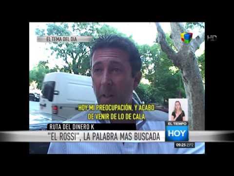 Así se defendía y mentía Fabián Rossi sobre el tema del lavado de dinero