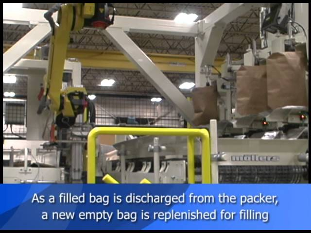 Valve Bag Placer (Robotic)