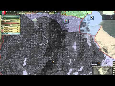 Hearts of Iron 3 - Black Ice 8.5 -  Italy [2] War in Africa!
