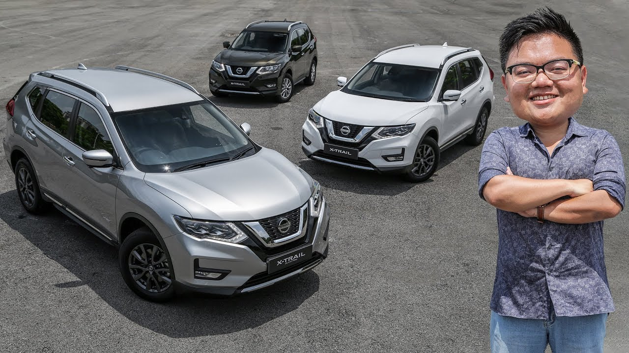 First Look 2019 Nissan X Trail Facelift Range In Malaysia From Rm134k Youtube