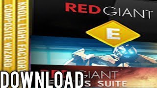 How to Download & Install Plugin Red Giant Effects Suite 11