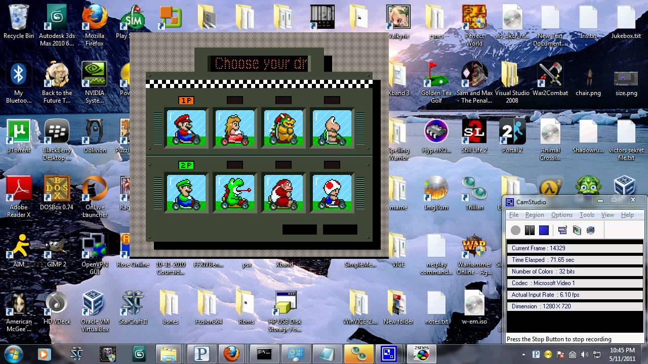 ZSNES (SNES Emulator)