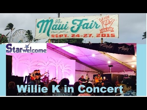 Willie K in Concert at 2015 Maui County Fair