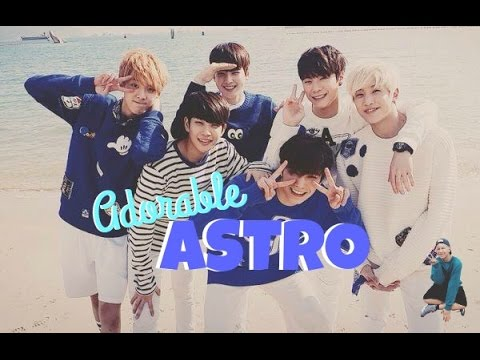funny yet adorable  ASTRO
