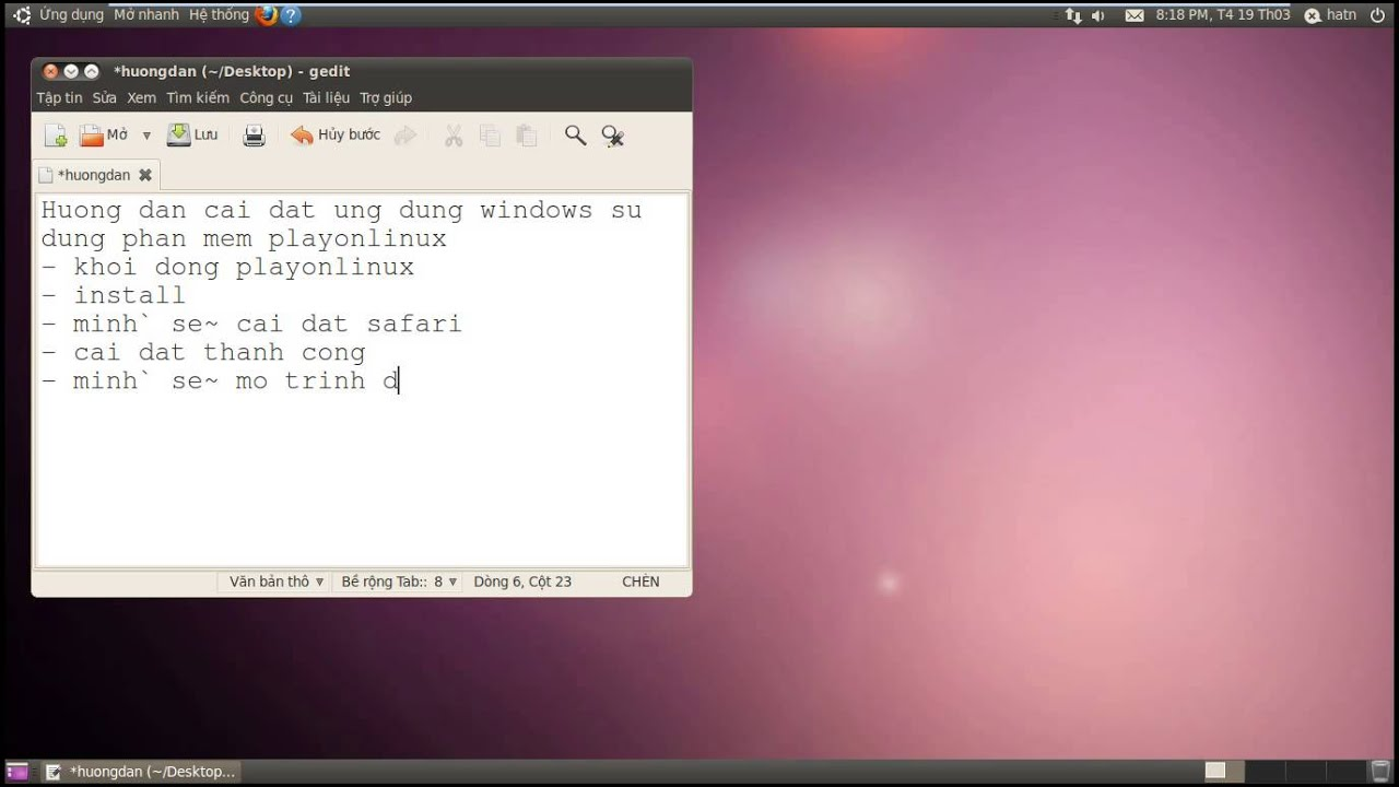 Cài Đặt Ứng Dụng Windows Trên Ubuntu – install application windows in ubuntu