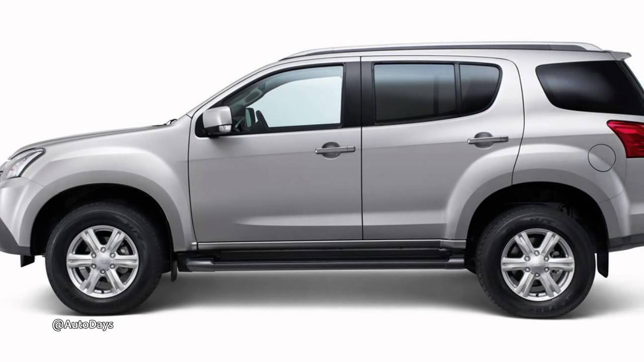 2014 Isuzu Mu X Preview