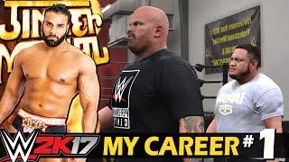 WWE 2K17 My Career Hindi #1