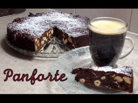 Panforte Italian Christmas Cake recipe cheekyricho tutorial