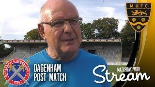 Dagenham post match: john still