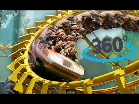 Tornado Rollercoaster Hellendoorn 360º