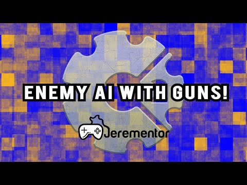 Construct 2: Enemy AI With GUNS! | Jerementor