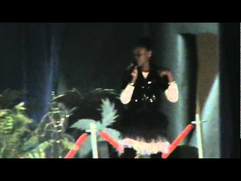 lil keke sing at noxubee county high school pageant 2010