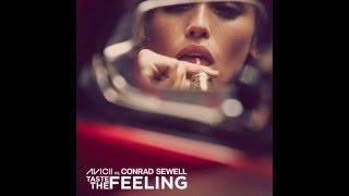 Download lagu Avicii Vs Conrad Sewell Taste The Feeling Lyrics MP3