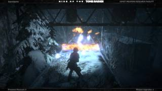 Rise of the Tomb Raider Cold Darkness Awakened DLC Disable the Chemical Production Towers Walkthough
