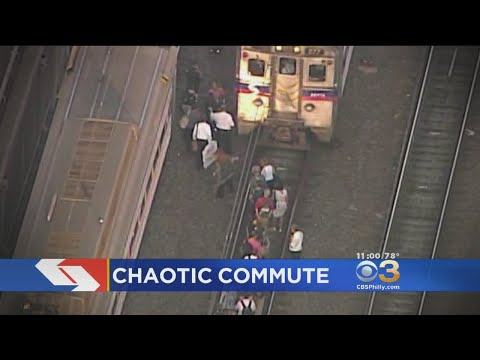 Hundreds Unexpectedly Evacuate SEPTA Regional Rail Train After Electrical Scare