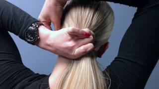 Simple & Easy Hairstyle for Dance Competitions.