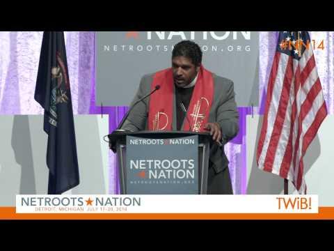 Rev. William Barber at @Netroots_Nation | #NN14