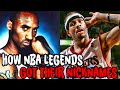 How 7 Nba Legends Got Their Famous Nicknames! video