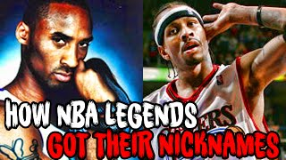 Download How 7 NBA LEGENDS Got Their FAMOUS NICKNAMES! Mp3 and Videos
