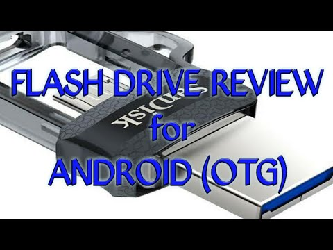 """""""SanDisk"""" flash drive for android (review)"""