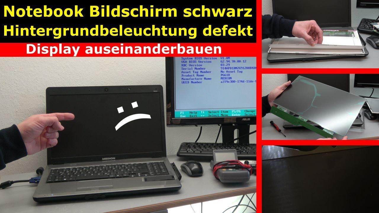 Notebook Bildschirm Bleibt Schwarz