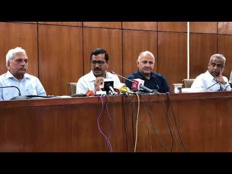 Delhi CM Arvind Kejriwal Briefs Media Post Delhi Budget in Vidhan Sabha