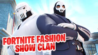 I Tried Out For A Fortnite FASHION SHOW CLAN (SO FUNNY)