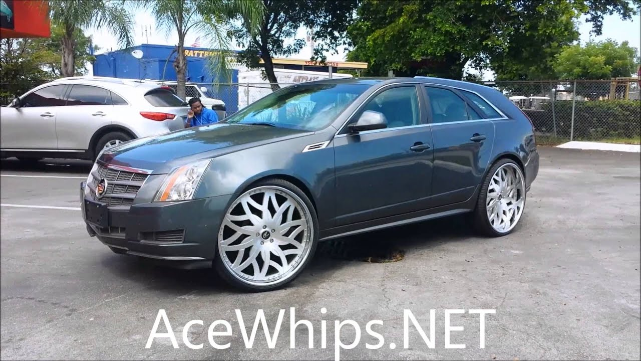 Acewhips Net First Cadillac Cts Wagon On 26 Quot Amani Forged