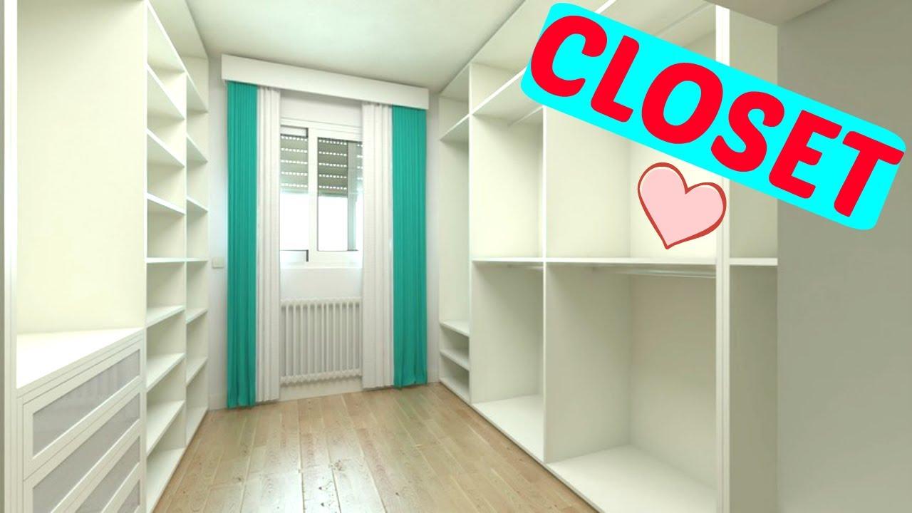 Modelos para closet projetos e inspira es youtube for Cotizacion de closets