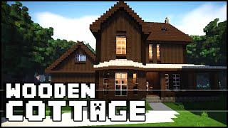 minecraft cottage wooden
