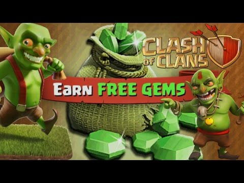 FASTEST, EASIEST, BEST WAY TO GET GEMS IN CLASH OF CLANS! - 100% Legit! No CoC Hacks!