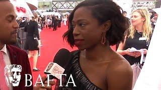 Nikki Amuka-Bird Red Carpet Interview  BAFTA TV Awards 2017