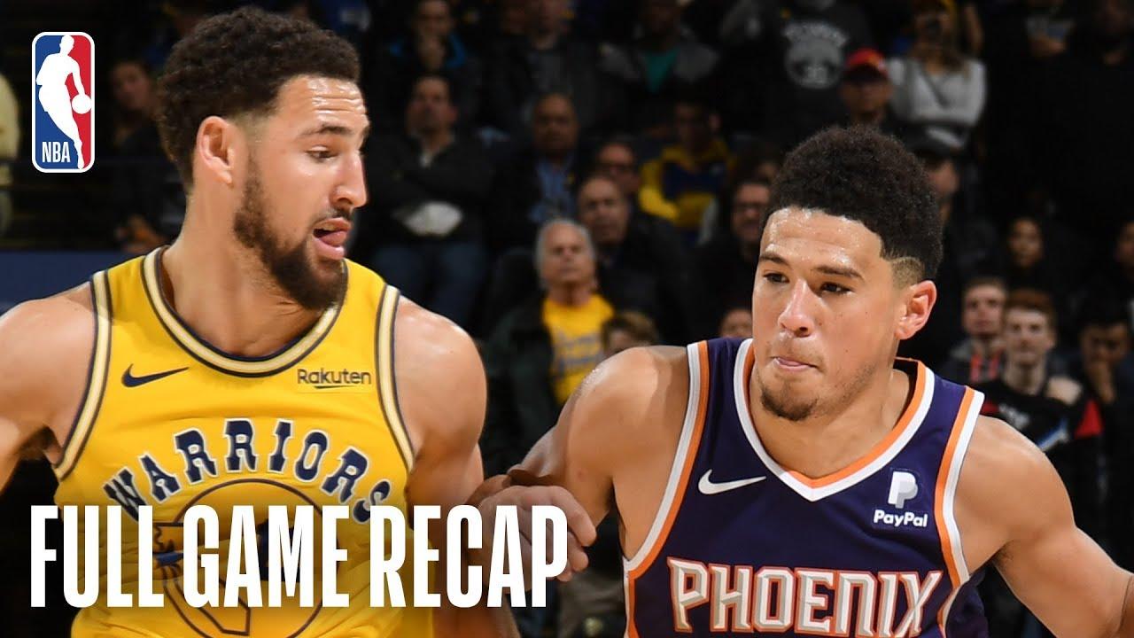 Suns Vs Warriors Devin Booker Drops 17 In The 4th