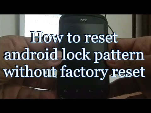 How To Unlock Android Phone After Too Many Pattern