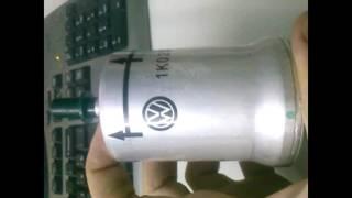 топливный фильтр VW Polo  в чем подвох!